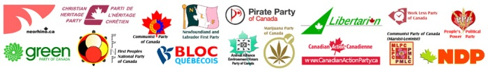 Canadian Political Party Logos