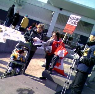 The Sign Reads: RESTORE DEMOCRACY Make Every Vote Count - FairVote.ca