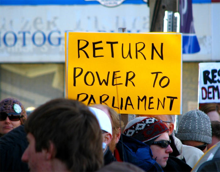 Return Power to Parliament