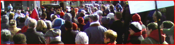 Andrew Telegdi speaking at the Waterloo NoProrogue Rally