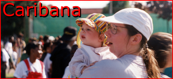 Mother and child at Caribana a few years back