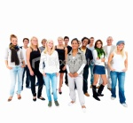 istockphoto_8506505-happy-young-men-and-women-standing-together
