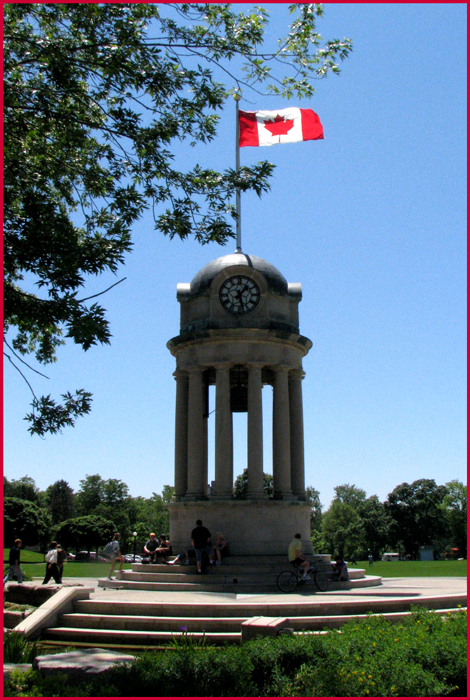 The restored Clock Tower in Kitchener's Victoria Park