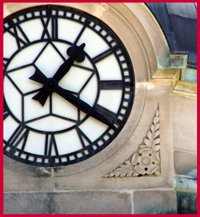 Clock Tower Face detail
