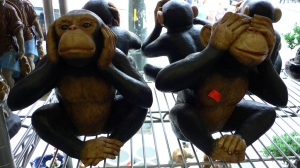 2 out of three monkeys fro sale