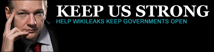 WikiLeaks: Keep Us Strong