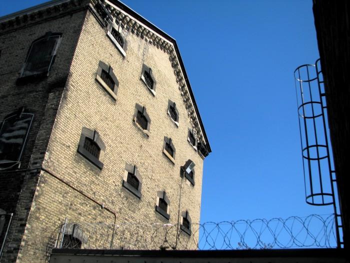 Razor wire and bars