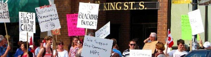 Omnibudget Protest 2012