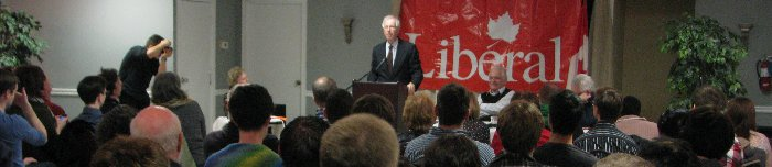 Dion addressed a Liberal Party  Electoral Reform Debate