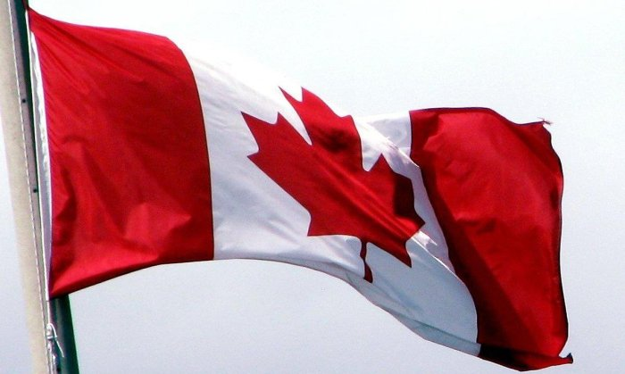 canadian flag banner