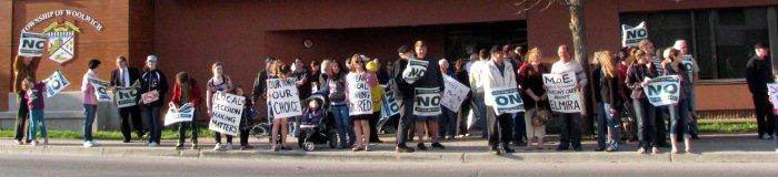 Elmira Biogas Protest
