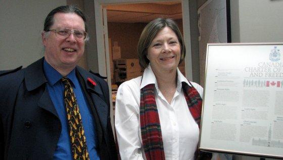 Bob Jonkman and Sharon Sommerville