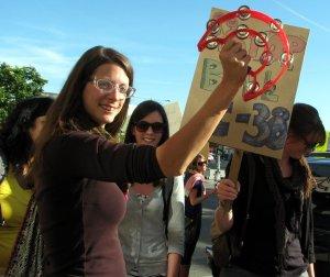 Casseroles Protest