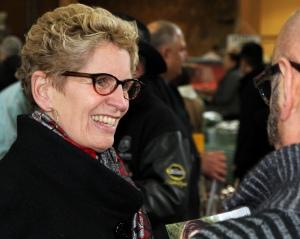 Premier Kathleen Wynne, Liberal