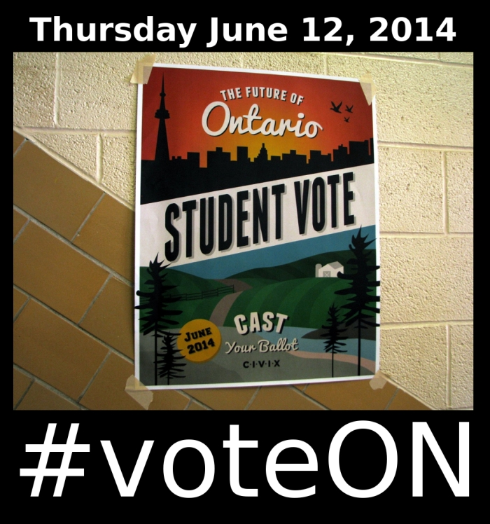 "my ""voteON"" poster"
