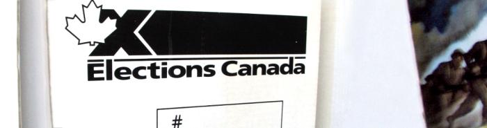 Elections Canada Ballot Box at EDSS