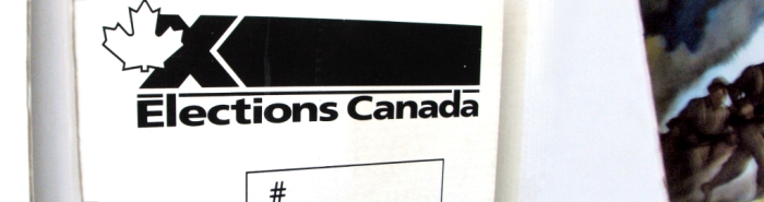 Elections Canada Ballot Box at EDSS