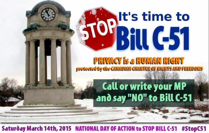 It's Time To STOP BILL C-51