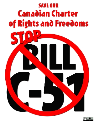 SAVE OUR Canadian Charter of Rights and Freedoms