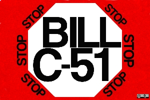 4stop bill c 51 postcards #4