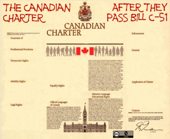 Canadian Charter After They pass Bill C-51