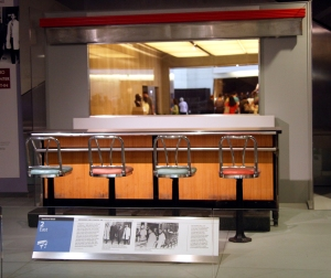 Greensborough Lunch Counter at the Smithsonian - CC BY-SA Tim Evanson