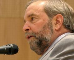 Thomas Mulcair, federal NDP Leader