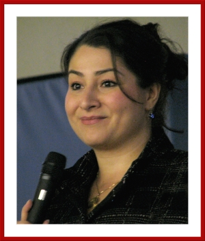 The Honourable Maryam Monsef, Minister of Democratic Institutions