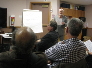 Don Fraser's Info Session in Ayr