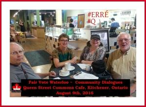 Fair Vote Waterloo Community Dialogues #@