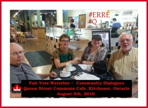 Fair Vote Waterloo Community Dialogues #@