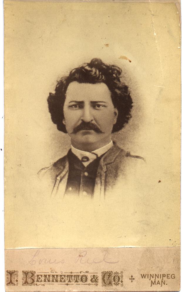 Louis Riel (public domain: circa 1870)