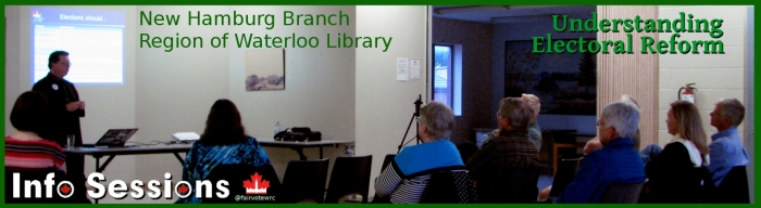 New Hamburg Branch info sessions