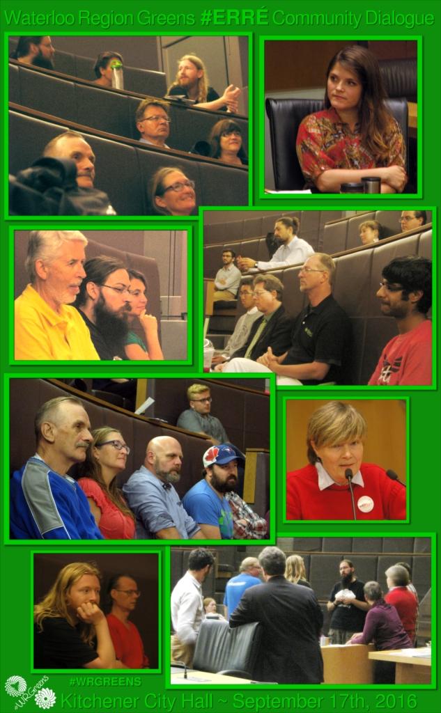 Waterloo Region Greens Community Dialogue