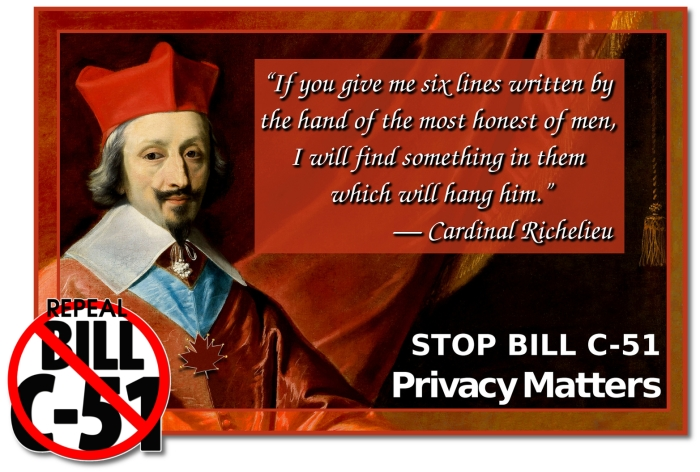 Cardinal Richilieu on Privacy