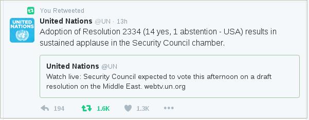 @UN tweets