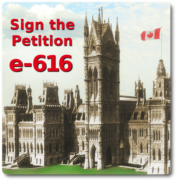 Sign the Petition: e-616