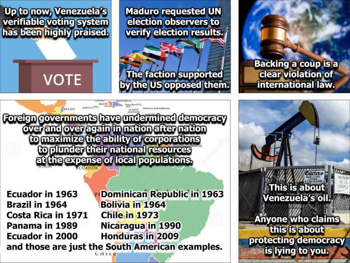 Canada should not be supporting a military coup in Venezuela ...